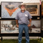 Bill Turner, oil, Honorable Mention